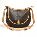 Louis Vuitton Tulum GM Monogram Canvas Shoulder Bag