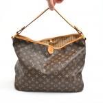 Louis Vuitton Delightful MM Monogram Canvas Hobo Bag