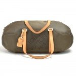 Louis Vuitton Attaquant Terre Grey Beige Damier Geant Canvas Boston Bag