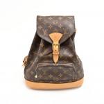 Louis Vuitton Montsouris MM Monogram Canvas Backpack