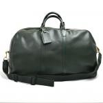 Louis Vuitton Kendall GM Green Taiga Leather Travel Bag + Strap