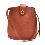 Louis Vuitton Cluny Kenyan Fawn Brown Epi Leather Shoulder Bag