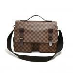Louis Vuitton Broadway Ebene Damier Canvas Large Messenger Bag