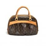 Louis Vuitton Mitzi Monogram Canvas Shoulder Bag