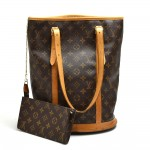 Louis Vuitton Bucket GM Monogram Canvas Shoulder Bag