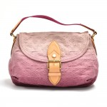 Louis Vuitton Sunray Rouge Monogram Denim Shoulder Bag 2010 Limited Ed