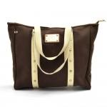 Louis Vuitton Cabas GM Antigua LV cup Brown Canvas Tote Shoulder Bag