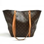 Vintage Louis Vuitton Sac Shopping Monogram Canvas Shoulder Tote Bag