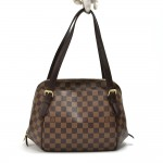 Louis Vuitton Belem PM Ebene Damier Canvas Handbag
