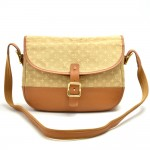 Louis Vuitton Berangere Beige Monogram Mini Lin Canvas Shoulder Bag