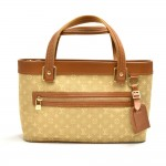 Louis Vuitton Lucille PM Beige Monogram Mini Lin Canvas Shoulder Bag