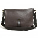 Louis Vuitton Omaha Coffee Brown Utah Leather Messenger Bag