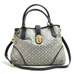 Louis Vuitton Elegy Blue Encre Monogram Idylle Canvas Shoulder Bag+Strap