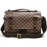Louis Vuitton Broadway Ebene Damier Canvas Large Messenger Bag