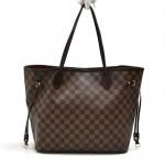 Louis Vuitton Neverfull GM Ebene Damier Canvas Shoulder Tote Bag