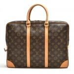 Louis Vuitton Porte-Documents Voyage Monogram Canvas Briefcase Bag