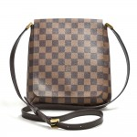 Louis Vuitton Musette Salsa Ebene Damier Canvas Crossbody Bag