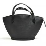 Louis Vuitton Saint Jacques PM Black Epi Leather Handbag