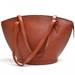 Vintage Louis Vuitton Saint Jacques GM Brown Kenyan Fawn Epi Leather Shoulder Bag
