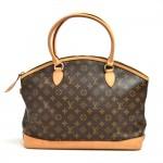 Louis Vuitton Lockit GM Monogram Canvas Shoulder Bag