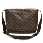Louis Vuitton District MM Monogram  Macassar Canvas Large Messenger Bag