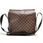 Vintage Louis Vuitton Naviglio Ebene Damier Canvas Messenger Bag