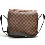 Louis Vuitton Naviglio Ebene Damier Canvas Messenger Bag