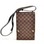 Vintage Louis Vuitton Portobello Ebene Damier Canvas Messenger Bag