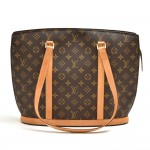 Vintage Louis Vuitton Babylone Monogram Canvas Tote Shoulder Bag