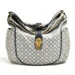 Louis Vuitton Romance Encre Idylle Monogram Mini Canvas Hobo Bag