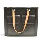 Louis Vuitton Willwood Black Monogram Matte Leather Large Shoulder Bag