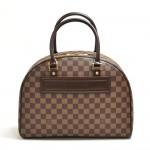 Vintage Louis Vuitton Nolita Ebene Damier Canvas Handbag