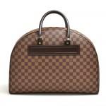 Vintage Louis Vuitton Nolita GM Ebene Damier Canvas Handbag