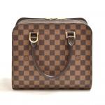 Louis Vuitton Triana Ebene Damier Canvas Handbag