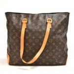 Vintage Louis Vuitton Cabas Mezzo Monogram Canvas Shoulder Tote Bag