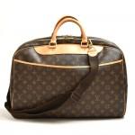 Vintage Louis Vuitton Alize 24 Heures Monogram Canvas Travel Bag + Strap