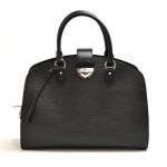 Louis Vuitton Pont Neuf GM Black Epi Leather Handbag