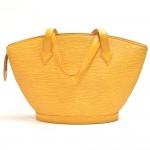 Vintage Louis Vuitton Saint Jacques PM Yellow Epi Leather Handbag