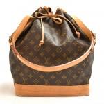 Vintage Louis Vuitton Noe Large Monogram Canvas Shoulder Bag