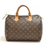 Vintage Louis Vuitton Speedy 30 Monogram Canvas City Handbag