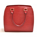 Vintage Louis Vuitton Pont Neuf Red Epi Leather Handbag