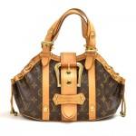 Louis Vuitton Theda PM Monogram Canvas Handbag