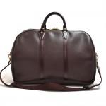 Vintage Louis Vuitton Kendall GM Burgundy Taiga Leather Travel Bag