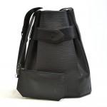Vintage Louis Vuitton Sac D'epaule GM Black Epi Leather Shoulder Bag