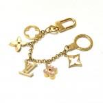 Louis Vuitton Fleur de Monogram Bag Charm Chain / Key Holder