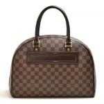 Louis Vuitton Nolita Ebene Damier Canvas Handbag