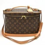 Louis Vuitton Nice Monogram Canvas Cosmetic Travel Case + Strap