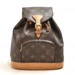 Vinage Louis Vuitton Mini Montsouris Monogram Canvas Backpack