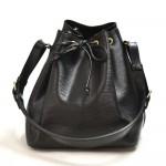 Vintage Louis Vuitton Petit Noe Black Epi Leather Shoulder Bag