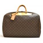 Vintage Louis Vuitton Alize Ann Posh Monogram Canvas Travel Hand Bag